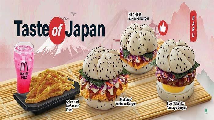 PROMO McDonalds Hari Ini 6 Juli 2021, Nikmati Taste of Japan hingga Paket McD 30th Serba 30 Ribuan