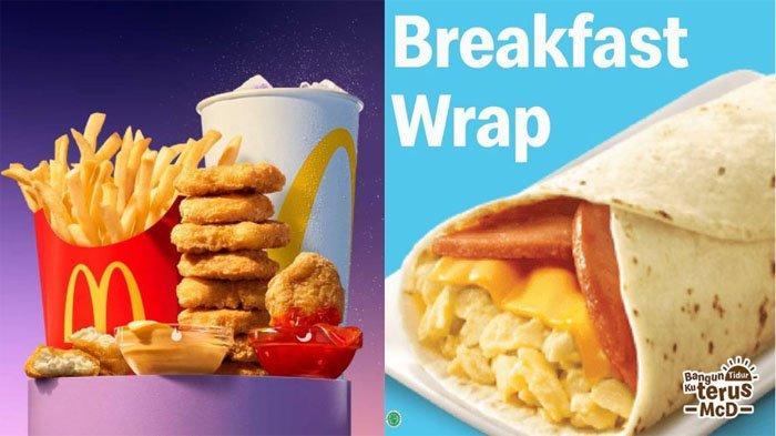 PROMO McDonalds Terbaru Hari Ini 5 Juli 2021, Ada Paket McD 30th Serba Rp30 Ribuan & Breakfast Wrap