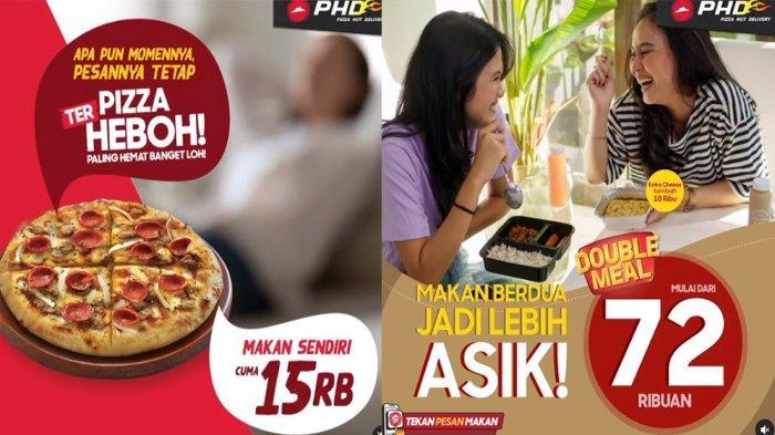 PROMO PHD Pizza Hut Delivery Januari 2021, Pizza Terheboh Mulai Rp 15 Ribu Double Meal Rp 72 Ribuan