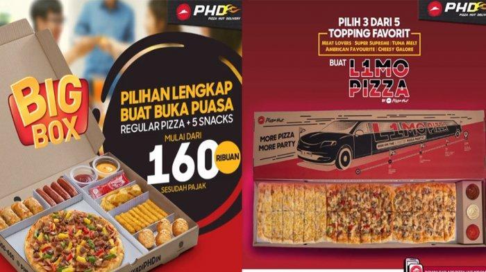 PROMO PHD Pizza Hut Delivery Hari Ini 15 April 2021, Pilihan Lengkap Buat Buka Puasa Reguler Pizza