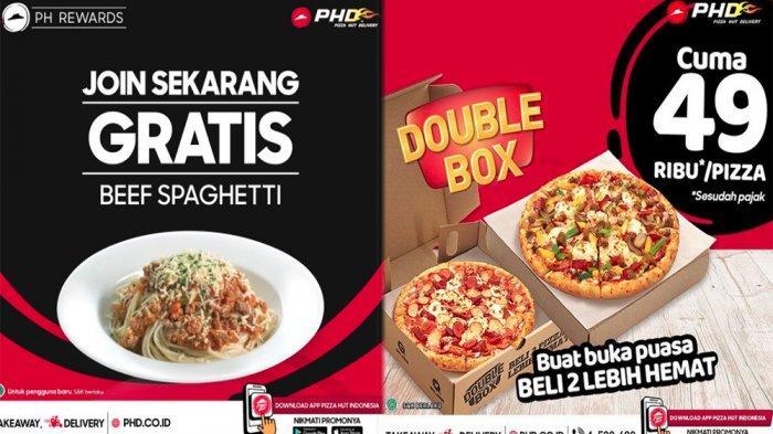 PROMO PHD Pizza Hut Delivery Hari Ini 22 April 2021, Gratis Beef Spaghetti hingga Beli 2 Lebih Hemat