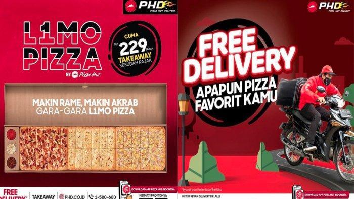 PROMO PHD Pizza Hut Delivery Hari Ini 26 Mei 2021,  Promo L1mo Pizza Pilih 3 dari 5 Topping Favorit