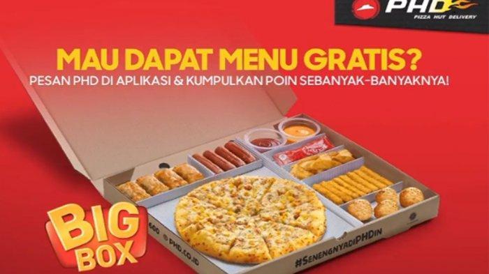PROMO PHD Pizza Hut Delivery Hari Ini 27 April 2021, Jajan Tuna Melt PHD Gratis hingga Free Big Box