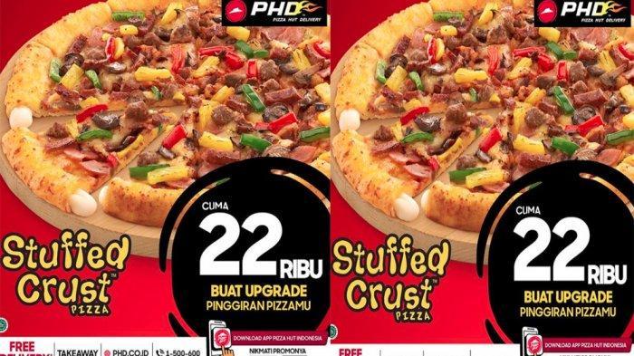 PROMO PHD Pizza Hut Delivery Hari Ini 28 Mei 2021, Stuffed Crust Pizza & L1mo Pizza Topping Favorit