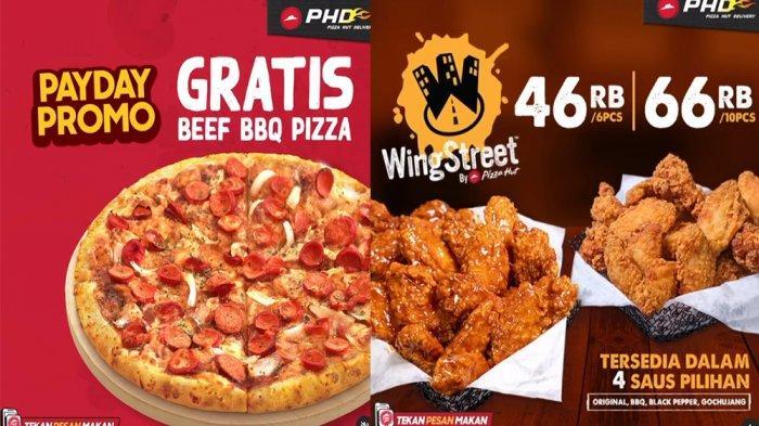 PROMO PHD Pizza Hut Delivery Hari Ini 29 Januari 2021, Chicken WingStreet dan Gratis Beef BBQ Pizza