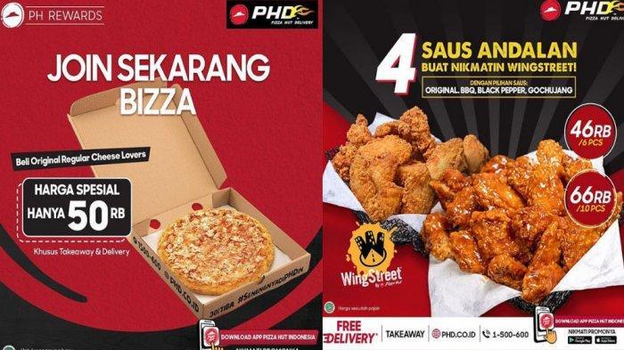 PROMO PHD Pizza Hut Delivery Hari Ini 6 Mei 2021,Beli Cheese Lovers Pizza Cuma 50 Ribuan Saja