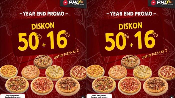 UPDATE Promo Spesial Akhir Tahun PHD Pizza Hut Delivery Desember 2020, Diskon 50 % + 16 % Pizza ke 2