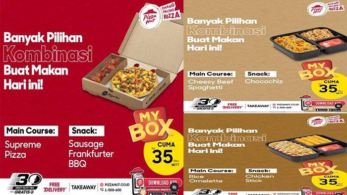 PROMO Pizza Hut Hari Ini 1 September 2021, Hanya 35 Ribu Banyak Pilihan Kombinasi Buat Makan