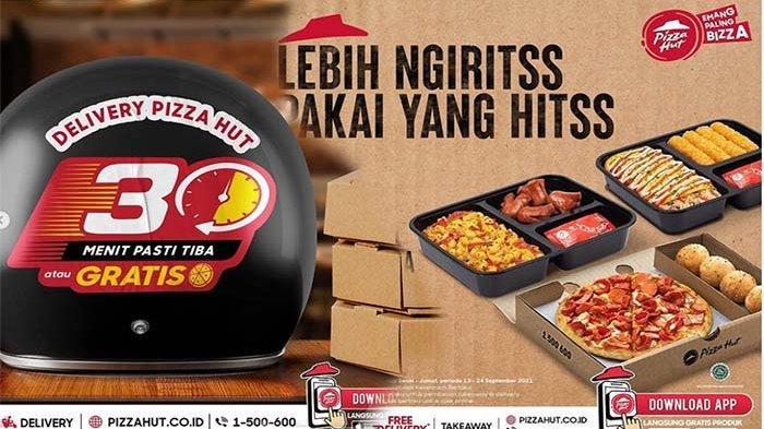 PROMO Pizza Hut Hari Ini 15 September 2021, Promo Hitss Hemat Dapatkan 3 MYBOX dengan Harga Murah