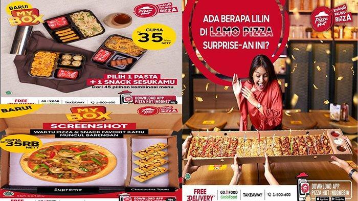 PROMO Pizza Hut Hari Ini 18 Juni 2021, Ada Cheesy Galore Pizza Hut & Tuna Melt Pizza Hut