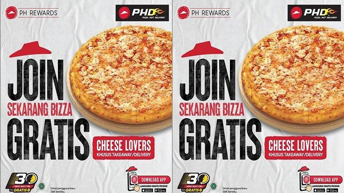 PROMO Pizza Hut Hari Ini 2 September 2021, Asyiiik Ada Gratis Cheese Lovers Pizza