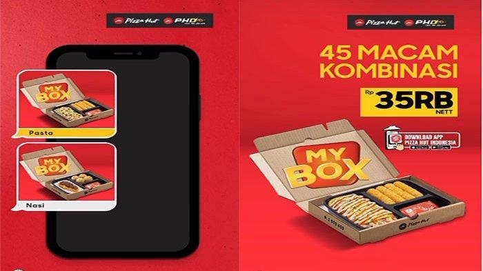 PROMO Pizza Hut Hari Ini 22 September 2021 Terbaru, Hanya 35 Ribu Pilih 45 Macam Kombinasi Sesukamu