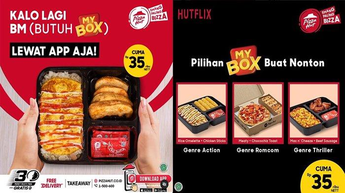 PROMO Pizza Hut Hari Ini 31 Agustus 2021, 45 Pilihan Kombinasi Menu Bikin Enggak Pernah Bosan