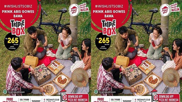 PROMO Pizza Hut Hari Ini 5 Juli 2021, Nikmati TripleBox Bisa Disantap 6-8 orang