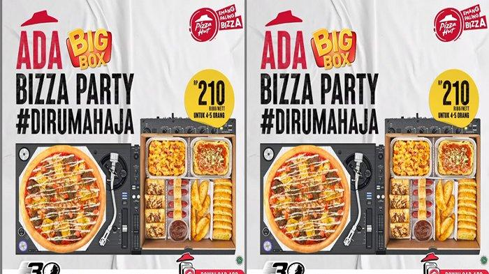 PROMO Pizza Hut Hari Ini 7 September 2021, Nikmati Promo Big Box untuk 4-5 Orang & Ada Gratis Pizza