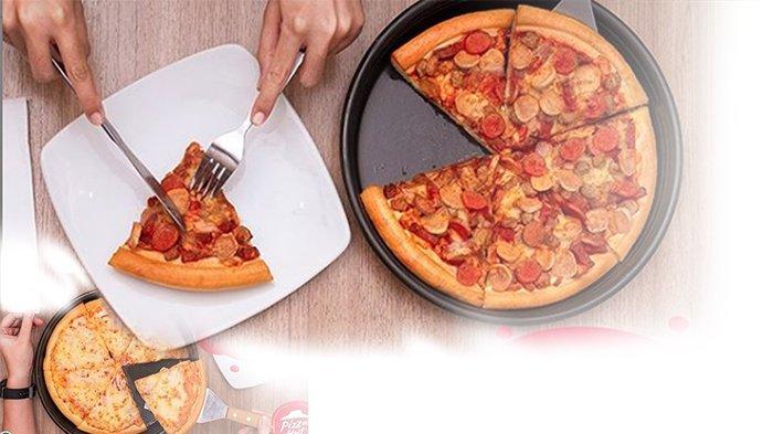 PROMO Pizza Hut Agustus 2020 Terbaru, Beli Pizza Hut Varian Reguler Pan Pizza Bisa Cuma Rp 50 Ribu
