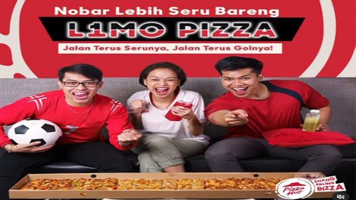 PROMO Pizza Hut Hari Ini 8 Juli 2021, Rayain Momen EURO 2021 Bareng L1MO Pizza Hut