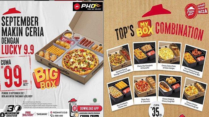 PROMO Pizza Hut Hari Ini 9 September 2021, Wuiiiih Banyak Promo Hemat Nih !