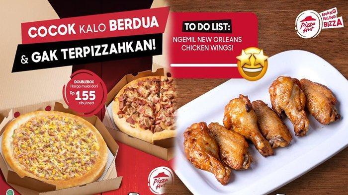 Promo Pizza Hut Hari Ini Rabu 28 April 2021, Menu Pizza Hut 2021 Terbaru New Orleans Chicken Wings