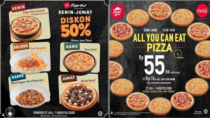 Promo Pizza Hut Juli Diskon 50 Hingga Makan Sepuasnya Mulai Rp 55 Ribu 27 Juli 7 Agustus 2020 Halaman All Tribun Pontianak