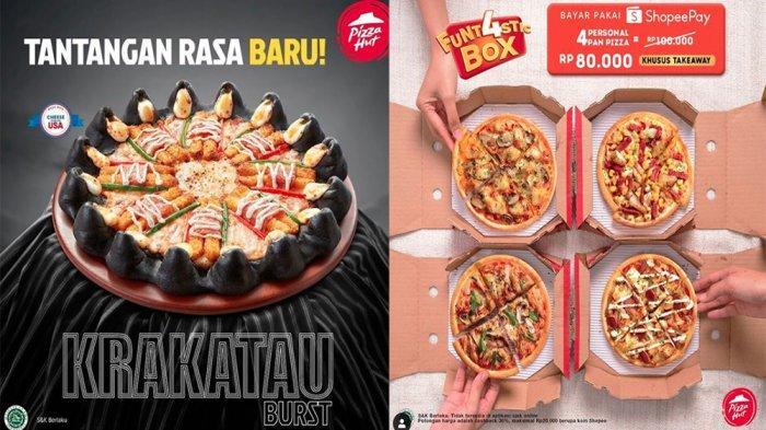 Promo Pizza Hut November 2020 Tantangan Rasa Baru Krakatau Burst Hingga Funtastic Box Rp 80 Ribu Tribun Pontianak
