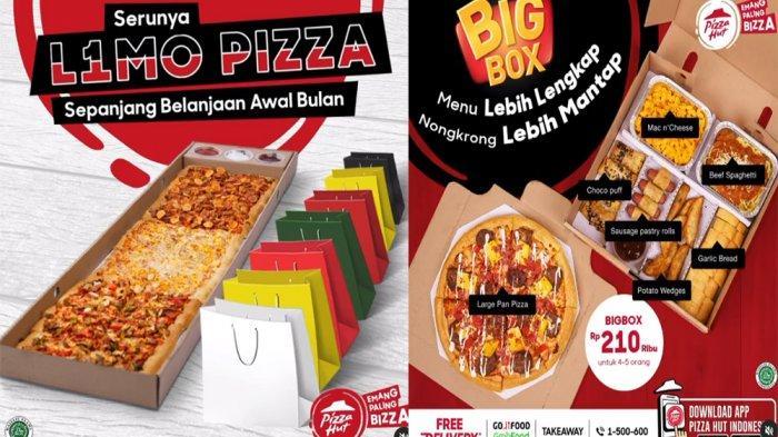 PROMO PIZZA HUT Terbaru 6 Juni 2021, L1Mo Pizza Big Box hingga Promo Voucher GRATIS Beef Spaghetti
