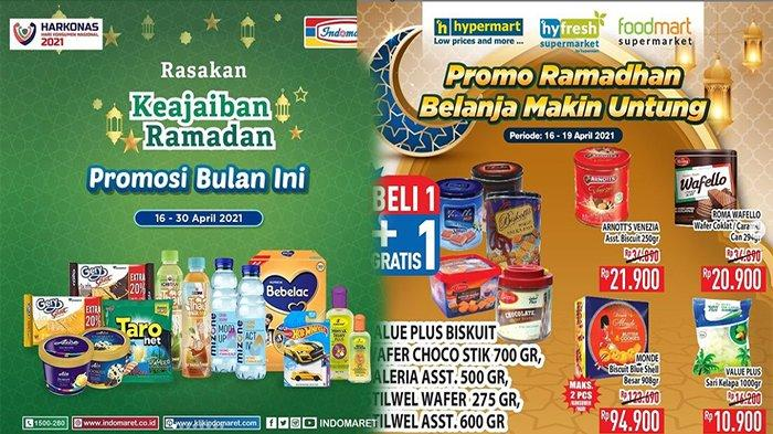 PROMO Ramadhan 2021 Dari Indomaret Hypermart Superindo Giant dan Alfamart, Belanja Super Hemat!