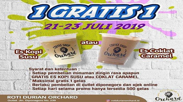 Promo Roti Durian Orchard, Beli 1 Gratis 1