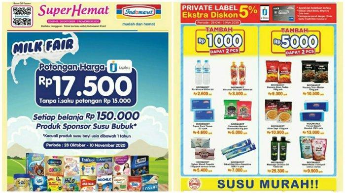 Katalog Promo Indomaret Pekan Ini Belanja Heboh Super Hemat Berlaku 28 Oktober 3 November 2020 Tribun Pontianak