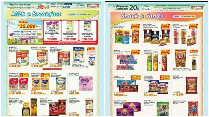 Katalog Promo Indomaret Terbaru 12 18 Agustus 2020 Susu Hingga Snack Super Hemat Banyak Diskon Tribun Pontianak