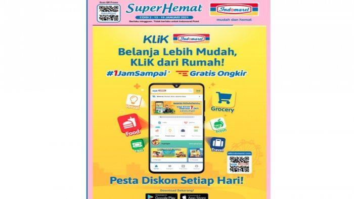 Promo Super Hemat Indomaret Periode 13-19 Januari 2021.
