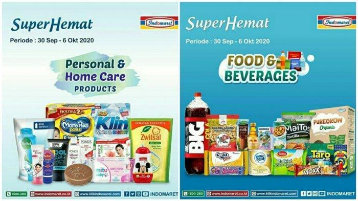 Katalog Promo Indomaret 30 September 6 Oktober 2020 Diskon Belanja Super Hemat Hingga Susu Murah Halaman 2 Tribun Pontianak