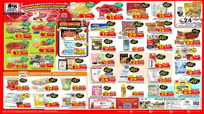 PROMO SUPERINDO Terbaru 12 - 15 Juli 2021, Harga Spesial Daging dan Diskon Buah hingga Telur Ayam