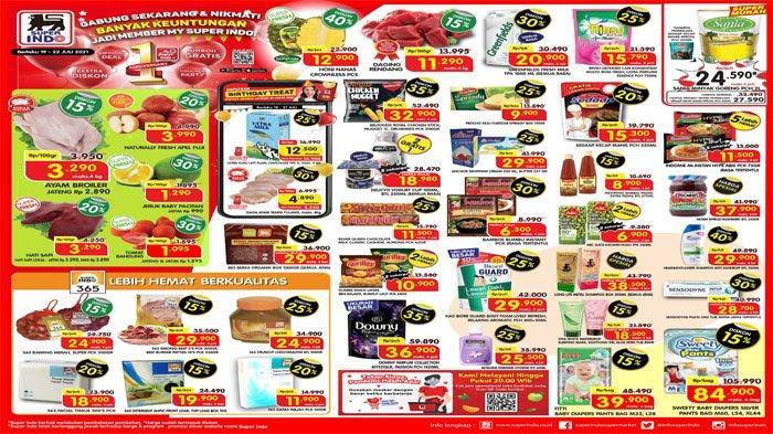 PROMO SUPERINDO Hari Ini 20 Juli 2021, Belanja Hemat Daging Buah Segar dan Minyak Goreng Super Murah