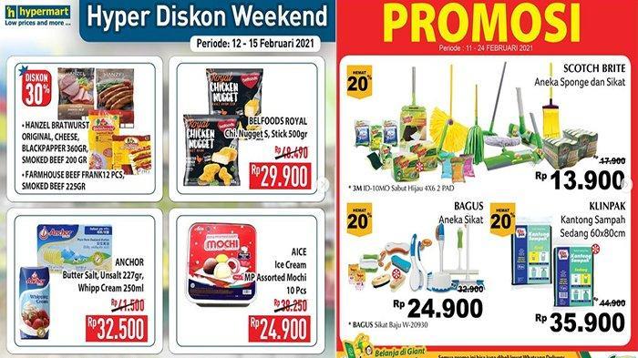 Promo Swalayan Hari Ini 15 Februari 2021 di Giant Indomaret Hypermart Superindo Transmart Carrefour