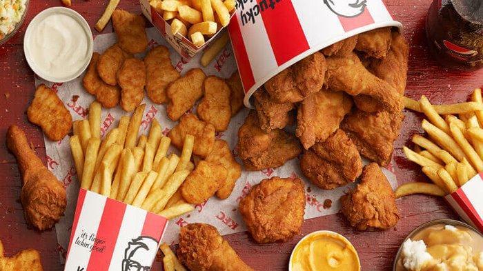PROMO KFC Terbaru Agustus 2020, Buruan Beli Menu KFC Chaki Kids Meal Bisa Dapat Mainan Spongebob Dkk