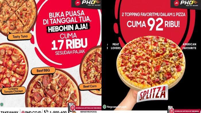 PROMO Terbaru PHD Pizza Hut Delivery Hari Ini 21 April 2021, Menu Hemat Pizza Heboh Cuma Rp 17 Ribu