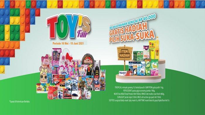 Promo Toys Fair Juni 2021.