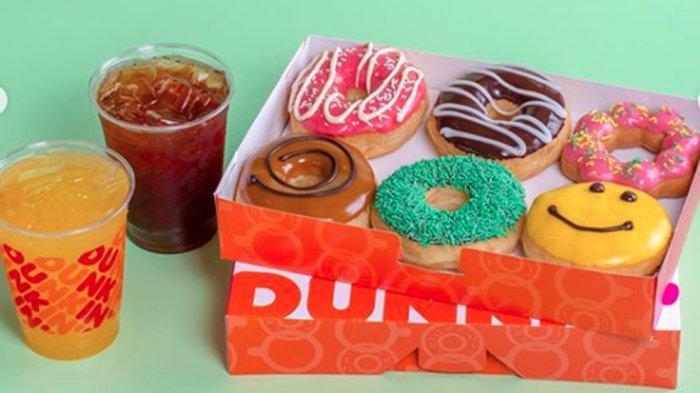 PROMODunkin Donuts 25 Juni,Paket di Rumah Aja Donut dan Minuman Dingin Favorit Mulai Rp 80 Ribu!