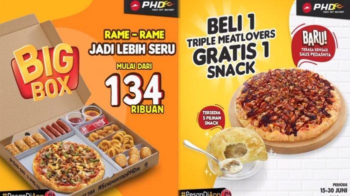 PROMOPHDPizza Hut Delivery 22 Juni, Nikmati Triple MeatLovers Gratis Snack hingga Paket Big Box!