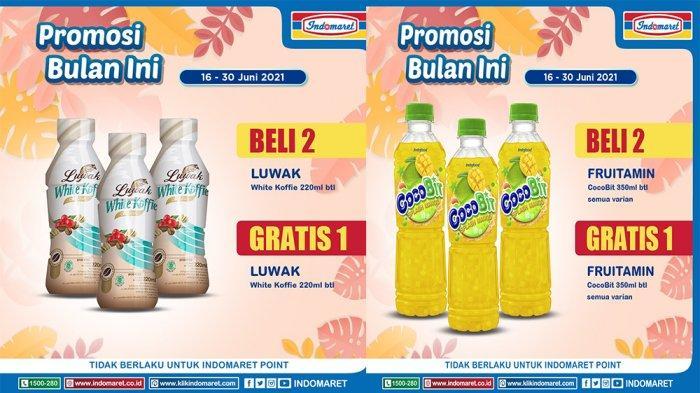 Promosi bulan Ini Indomaret periode 16 - 30 Juni 2021.