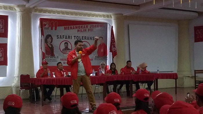 Azmi Abubakar: Kita Akan Menangkan PSI dan Merdekakan Indonesia Yang Kedua