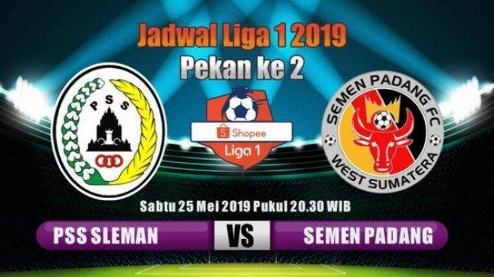 Sedang Tayang LIVE Streaming PSS Sleman Vs Semen Padang di Indosiar, Cek Skor via Link Live Score