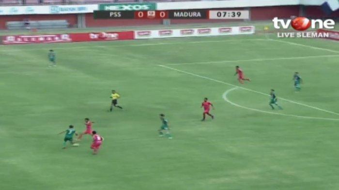LIVE STREAMING TVOne PSS Sleman Vs Madura FC: Babak 8 Besar Liga 2 Indonesia