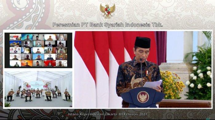 Jokowi : Bank Syariah Indonesia Bertekad Bawa Indonesia Jadi Pusat Gravitasi Ekonomi Syariah Dunia