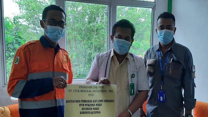CITA Bantu Perbaiki Lampu Darurat UPTD Puskesmas Marau, Wujud Program CSR Bidang Kesehatan