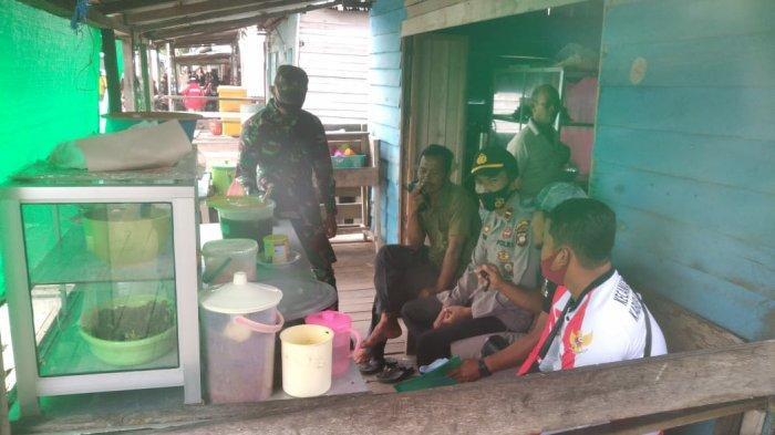 Polsek PMK Sampaikan ImbauanLarangan Mudik Serta Ingatkan Masyarakat Tetap Patuhi Prokes Covid-19