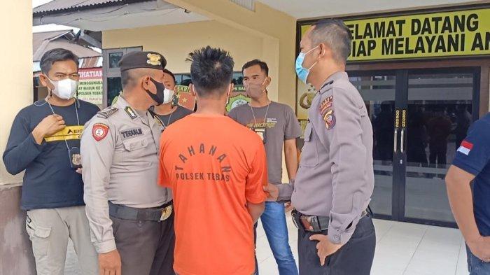 Polsek Tebas Tangkap Tersangka Curanmor di Masjid, Terancam Hukuman 5 Tahun Penjara