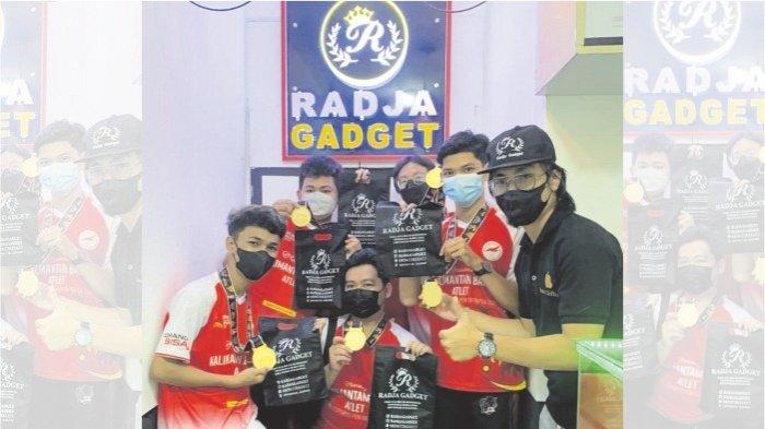 Raih Medali Emas PON Papua, Atlet Esport Mobile Legends Kalbar Dapat Apresiasi dari Radja Gadget