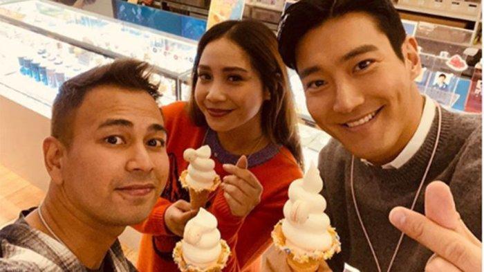 Raffi Ahmad & Nagita Slavina Pamer Keakraban dengan Siwon Suju, Respon Baim Wong Malah Jadi Sorotan
